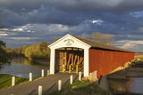 The Medora Covered Bridge  Indiana  USA