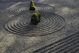 Sand and Stone Garden  Portland Japanese Garden  Oregon  USA