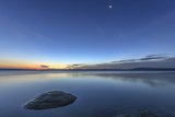 Sunrise over Yellowstone Lake  Yellowstone National Park  Wyoming  USA