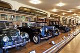 Interior of the Ford Museum  Michigan  USA