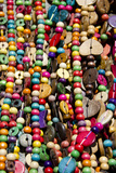 Wood and Nut Bead Necklaces  Balneario  Santa Catarina  Brazil
