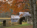 Autumn at Mabry Mill  Blue Ridge Parkway  Virginia  USA