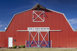 Barn  Farm and Ranch Museum  Elk City  Oklahoma  USA