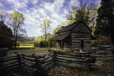 John Oliver Cabin  Great Smoky Mountains NP  Tennessee  USA