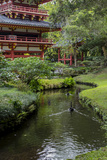 Byodo-In Buddhist Temple and Garden  Kaneohe  Oahu  Hawaii  USA