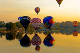 Dawn Light at Prosser Balloon Rally  Prosser  Washington  USA
