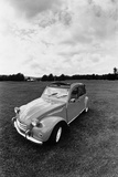 Citroen 2CV  Black and White Picture