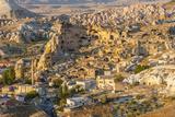 Aerial View of Cappadocia  Central Anatolia  Turkey