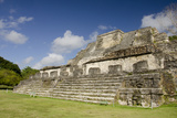 Ruins of Ancient Mayan Ceremonial Site  Altun Ha  Belize