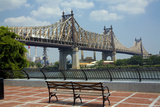Queensboro Bridge  Sutton Place Park  Manhattan  New York  USA