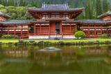 Byodo-In Buddhist Temple  Kaneohe  Oahu  Hawaii  USA