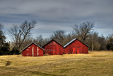 Three Barns  Kansas  USA