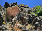 She Who Watches  Tsagaglalal Petroglyph  Washington  USA