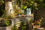 Garden Tub and Wash Basin at Chateau Roussan  France