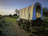Covered Wagon  Whitman Mission National Historic Site  Washington  USA