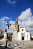 Church of St John the Baptist in Tomar  Ribatejo  Portugal