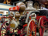 Fire Wagon  Mackinac Island  Michigan  USA