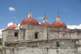 The Domes at the Church of Saint Paul  Mitla  Oaxaca  Mexico