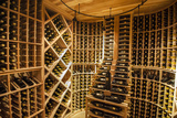 Bottle Cellar at Garrison Creek Cellars  Walla Walla  Washington  USA