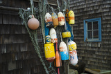 Lobster Buoys  Rockport  Massachusetts  USA