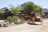 Stage Coach  Old Tucson Studios  Tucson  Arizona  USA