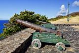 Fort De Windt on St Eustatius  Antilles