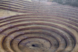 Incan Circular Agricultural Terraces at Moray  Peru