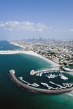 Aerial View of Jumeirah Beach Hotel  Dubai  United Arab Emirates