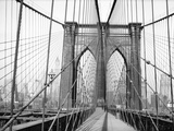 Brooklyn Bridge  1948  New York  USA