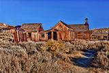 Bodie State Park  California  USA
