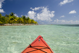 Kayaking in Clear Waters  Southwater Cay  Belize