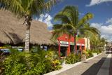 Puerta Maya Shopping Area  Cozumel  Mexico