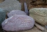 Prayer Stones  Ladakh  India