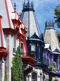Victorian Houses  Montreal  Quebec  Canada