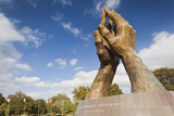 Praying Hands  Oral Roberts University  Tulsa  Oklahoma  USA