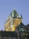 Chateau Frontenac Roof Detail  Montreal  Quebec  Canada