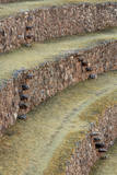 The Circular Incan Agricultural Terraces at Moray  Peru