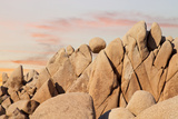 Geometric Rock Formation  Joshua Tree NP  California  USA