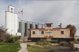 Grain Elevator  Hershey  Nebraska  USA