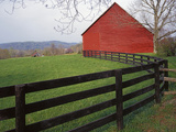 Barn Near Etlan  Virginia  USA