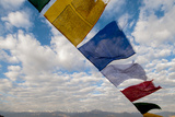 Rayer Flags  Leh  Ladakh  India