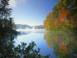 Fairy Stone Lake  Fairy Stone State Park  Virginia  USA