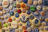 Campaign Buttons  McGovern Legacy Museum  Mitchell  South Dakota  USA