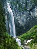 Comet Falls  Mt Rainier National Park  Washington  USA