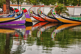 Typical Salt Boats in Aveiro  Portugal