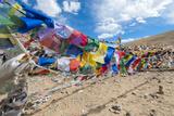 Namshangla Pass Strings of Prayer Flags  Ladakh