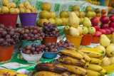 Local Fruit and Vegetables at a Market in San Juan Chamula  Mexico