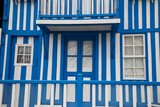 Palheiros' Typical Colorful Houses  Costa Nova  Aveiro  Portugal