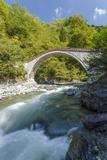 River and Stone Bridge  Rize  Black Sea Region of Turkey