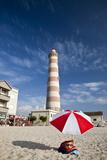 Barra Lighthouse  Costa Nova  Aveiro  Portugal